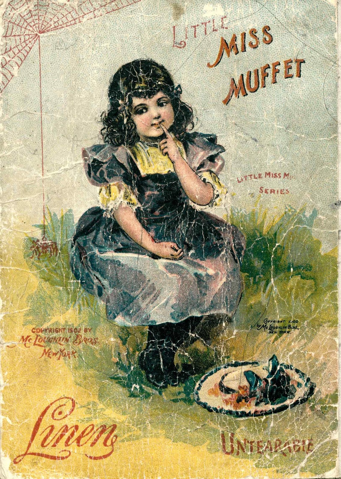 Clearly Vintage Little Miss Muffet