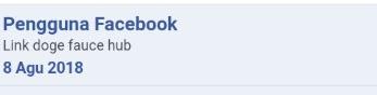 Nama Facebook berubah menjadi Pengguna Facebook