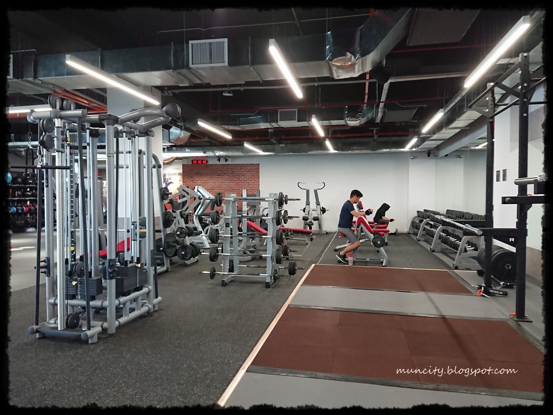 Lalalaland Fitness First Platinum Melawati Mall Body Gym Pump Warna Cardio Area
