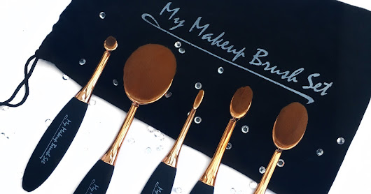 My Makeup Brush oval brush review AD* | love, Libby xx