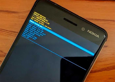 Instal Pembaruan Android Pie Nokia 7 Plus - Sideload OTA menggunakan Pemulihan Stock