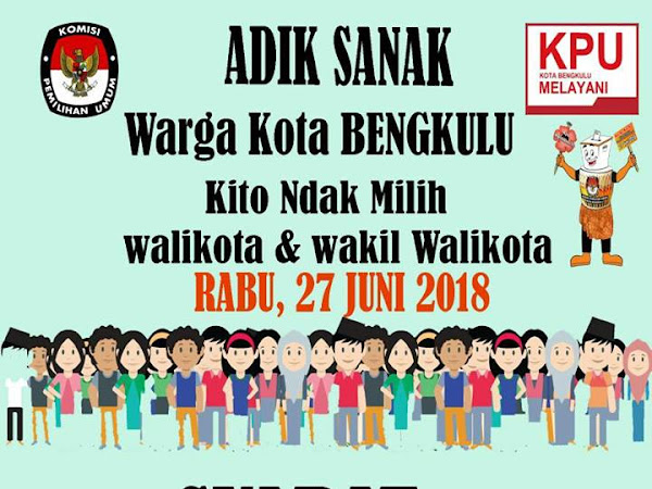 Pilwakot Bengkulu, Rabu 27 Juni 2018
