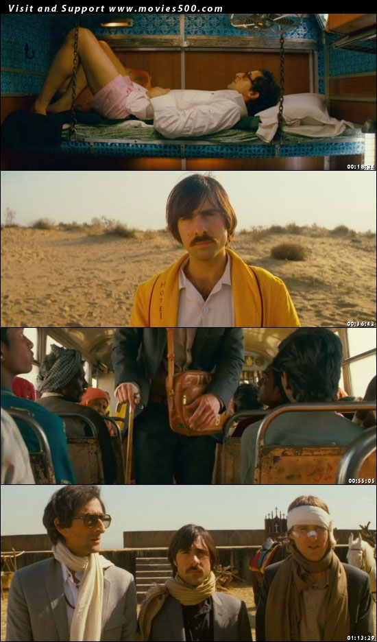 The Darjeeling Limited 2007 Dual Audio Hindi Movie Download at movies500.com