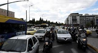 «Έμφραγμα» στους δρόμους λόγω της απεργίας στα Μέσα Μεταφοράς