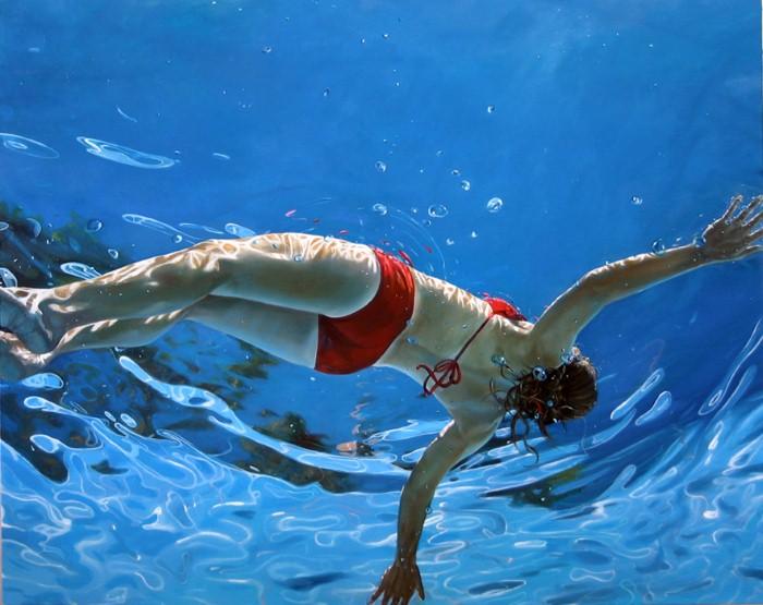 Eric Zener. Художник-самоучка. Вода и люди 15