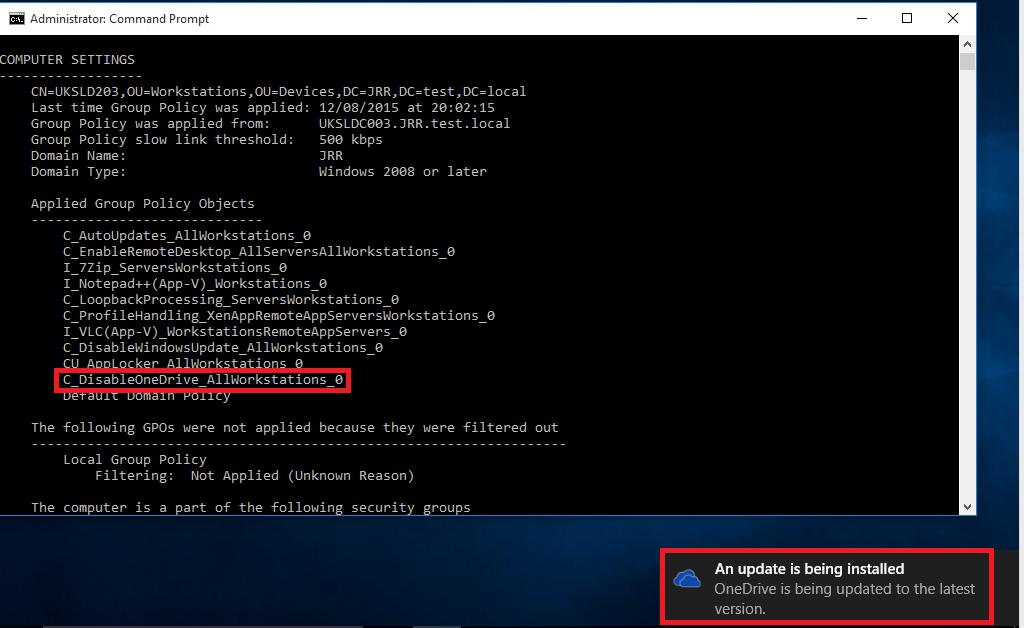 Windows 10 part #2 - getting rid of OneDrive - HTG   Howell