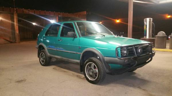 1990 VW Golf Country Syncro 4x4