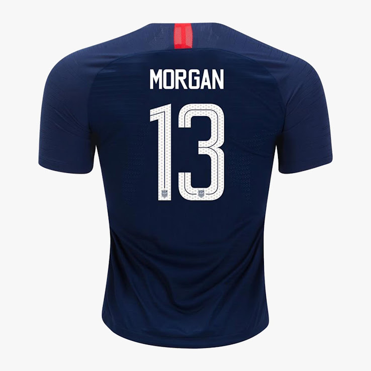 ce5d23ad3 Unique Nike USA 2018 Jersey Font Revealed - Footy Headlines
