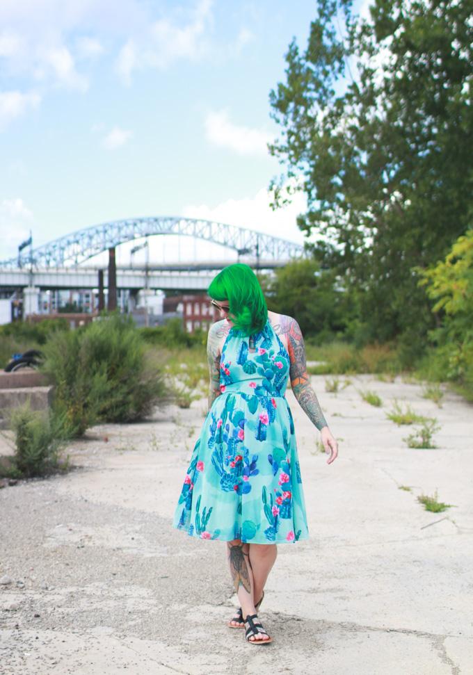 the dainty squid, kaylah doolan, fashion blog, cleveland blogger