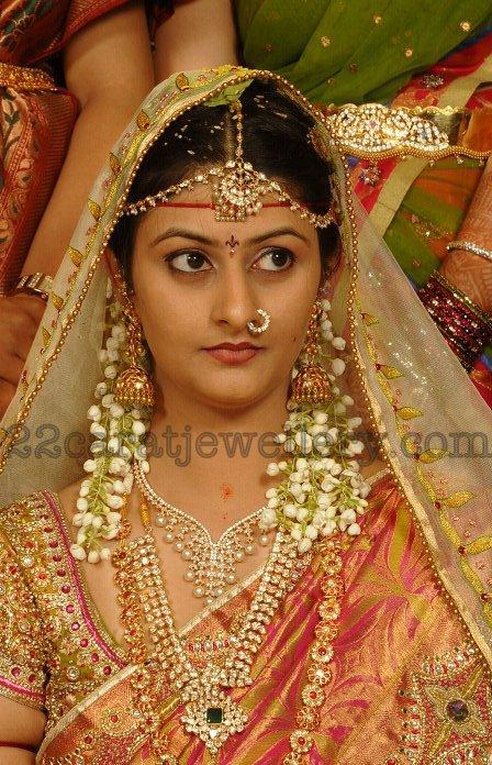 Real Bride In Diamond Jewellery Jewellery Designs