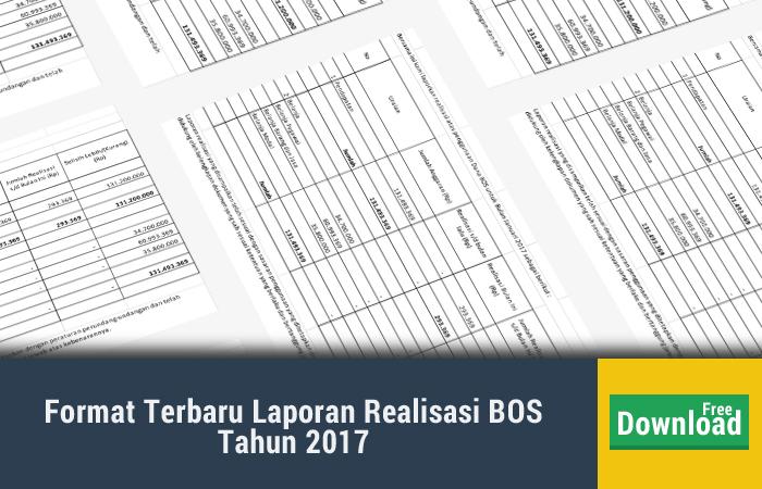 Update Contoh Laporan Dana BOS  2017 Senin 22 Januari 2018