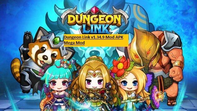 Dungeon Link v1.34.9 Mod APK Mega Mod