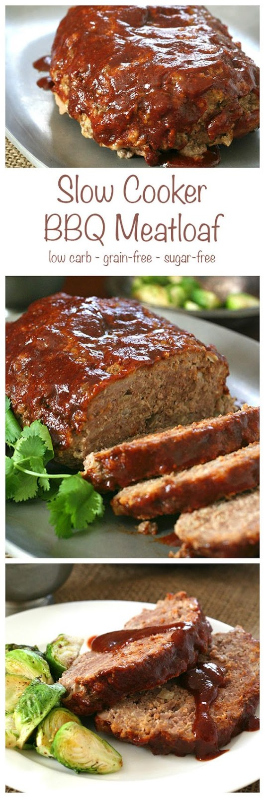 SLOW COOKER BARBECUE MEATLOAF RECIPES