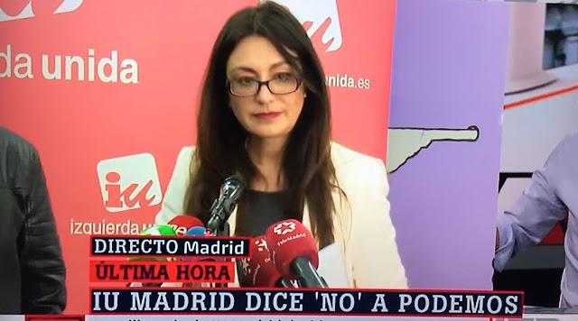 IU Madrid renuncia a la confluencia con Podemos para las autonómicas