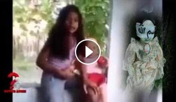 MENGGELIKAN: Anak Dara Hamil Lepas Simpan Anak Patung Dalam Bilik