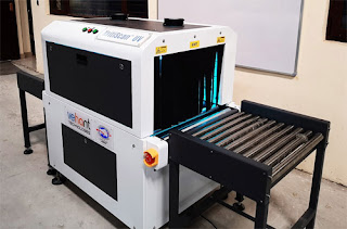 KrttiScan -UV Baggage Scan System for Corona Disinfection