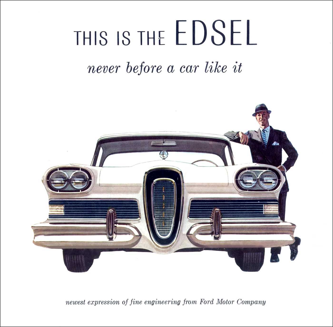The edsel car of the future really for Ford motor company employee discount