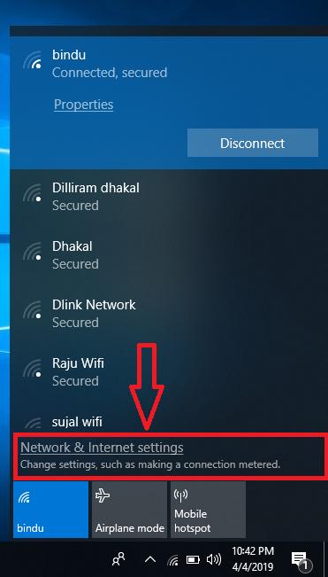 How to find WiFi password in windows 10 - Kunwar Lab