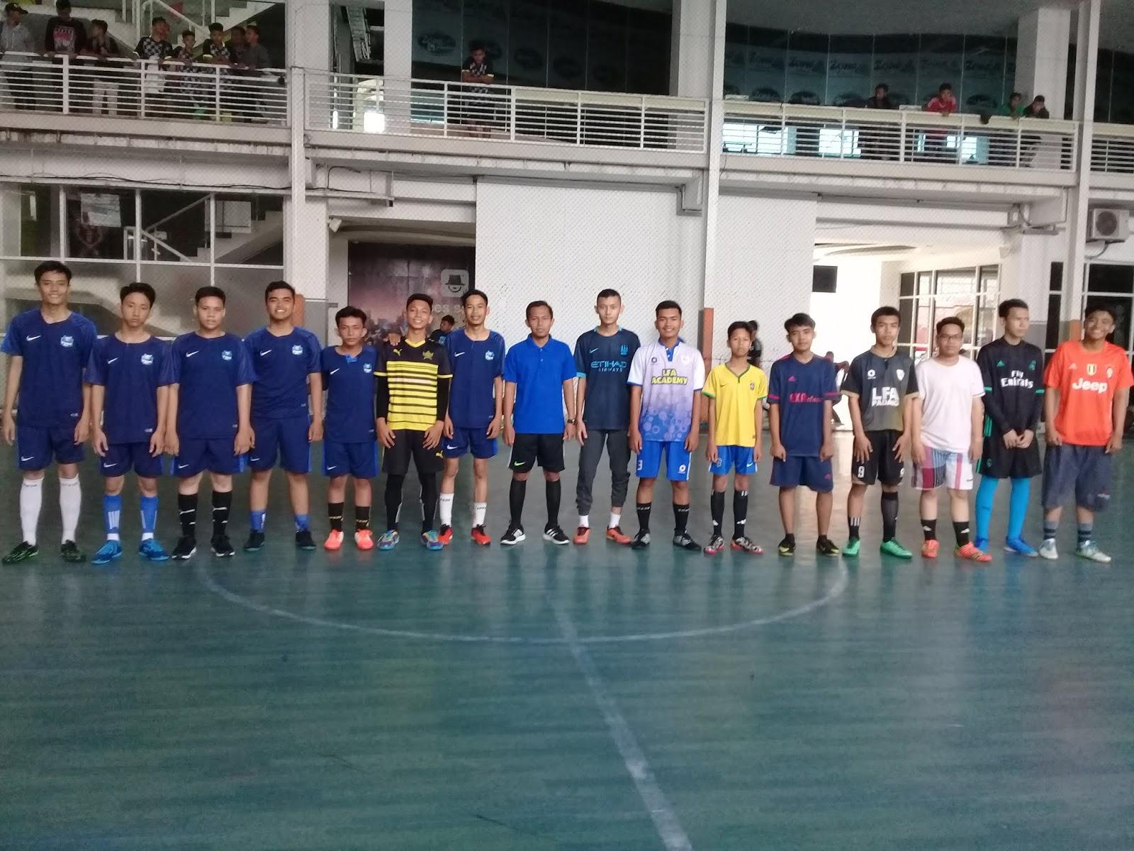Keseruan Bertanding Murid SMA Pembangunan dalam Tournament OSIS CUP 5