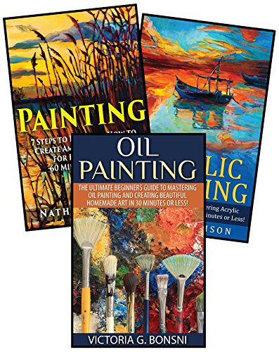how to paint with acrylics books