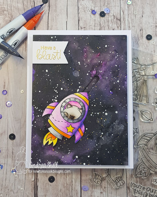 Have a blast by Andrea features Cosmic Newton by Newton's Nook Designs; #newtonsnook