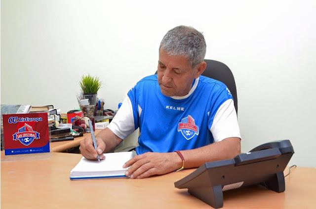 Froilán Hidalgo asume dirección técnca Air Europa Atlético San Cristóbal