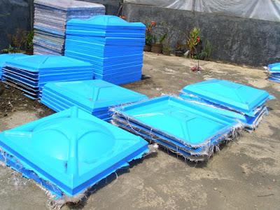 pabrik tangki panel fiberglass