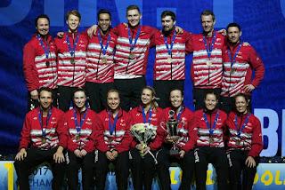 BÁDMINTON - Dinamarca retiene el título europeo de equipos mixtos