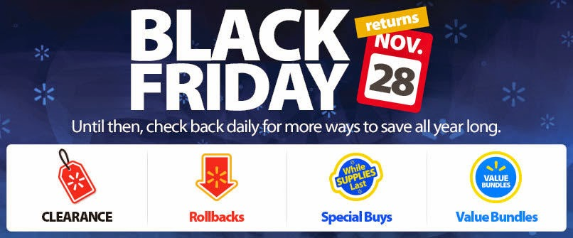 Black Friday 2014 Deals Walmart Discount Ad