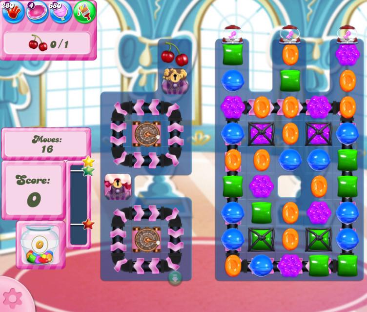 Candy Crush Saga level 2736