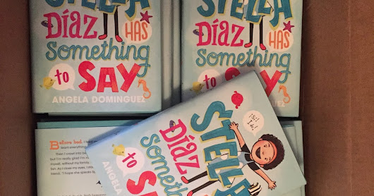 HAPPY BOOK BIRTHDAY, STELLA DÍAZ!!!!