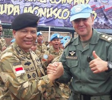 Kontingen Batalyon Indonesia Tiba di Republik Demokratik Kongo