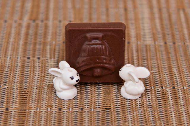 Lego - Advent Calendar - Calendrier de l'Avent - Rabbit - Lapin - Pâques - Easter - Lego - Chocolat au lait