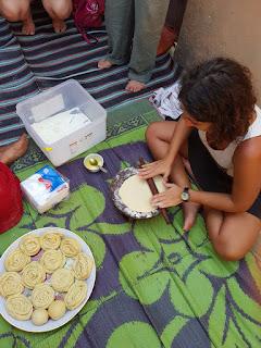 Preparazione chapati
