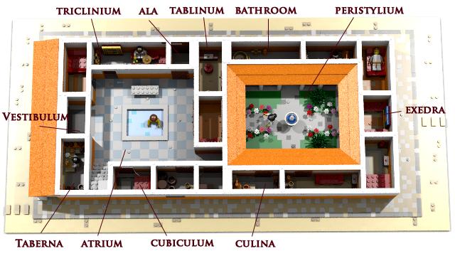 L M I R Lego Modular Imperium Romanum L M I R Roman House