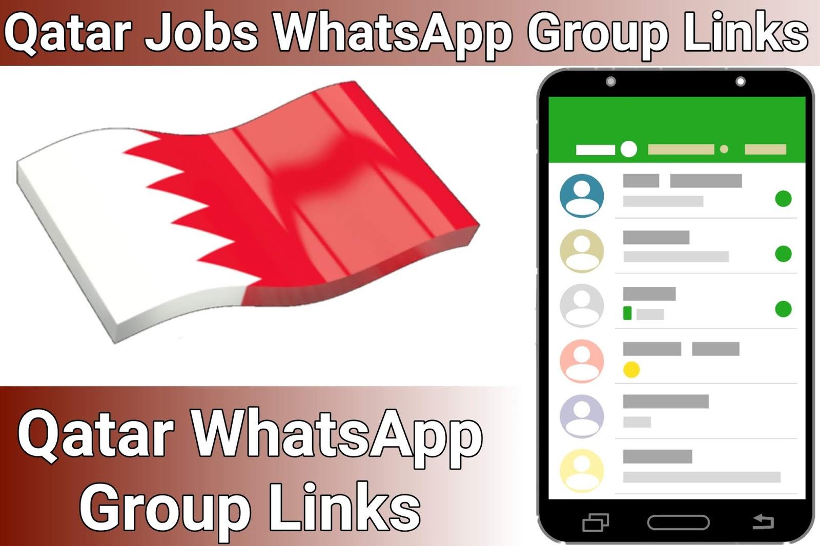 Qatar Jobs WhatsApp Group Link - Qatar WhatsApp Group Link