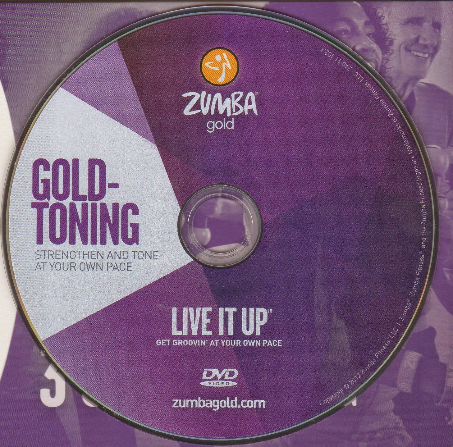 Zumba Fitness Live Dvd: Saundra: Zumba Gold Live It Up