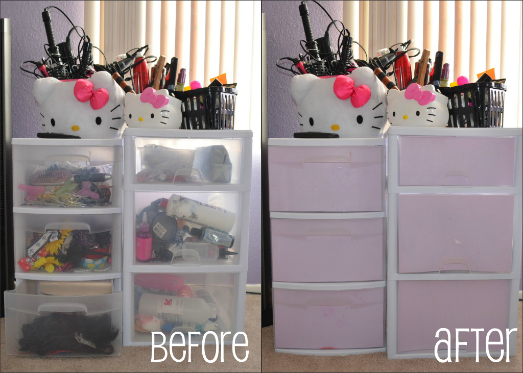 Easy DIY: Decorate your Makeup Containers