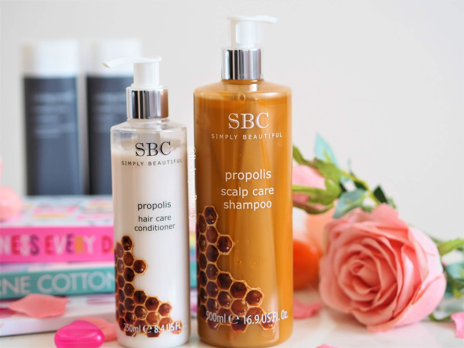 Propolis shampoo and conditioner