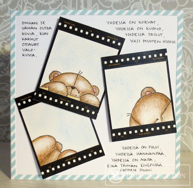 Nallet valokuvissa -kortti