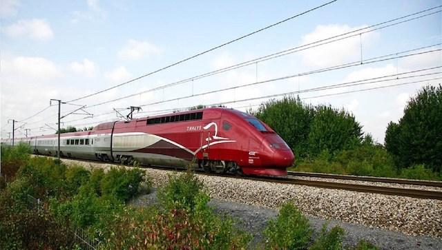 Trem Thalys até Amsterdã