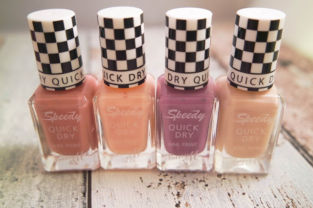 Barry M Spring '16 Lucy Mecklenburgh Speedy Quick Dry