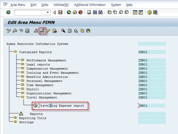 SAP Basis For Beginner: Administration: Creating a new menu