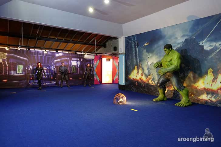 Hulk de arca statue art museum yogyakarta