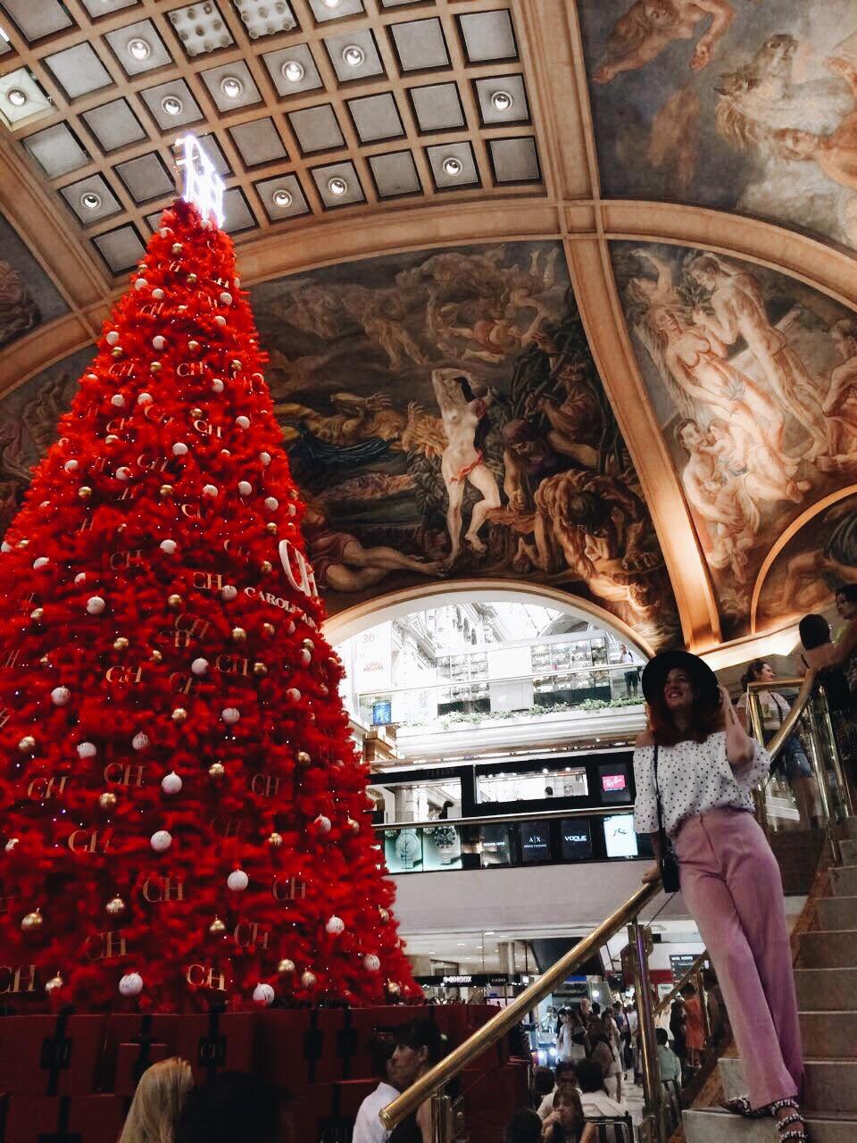 Navidad en Galerias Pacifico BAIRES