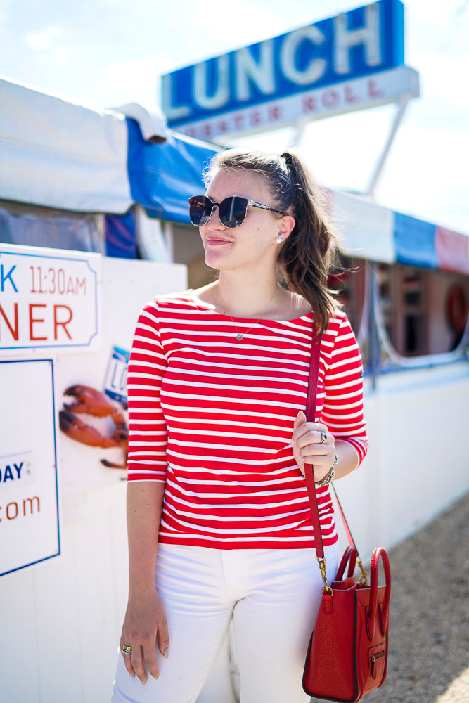 Lunch at Lobster Roll | Popular New York City Fashion and Travel Blog | Covering the Bases