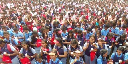 More than 23000 people come together at SRU to increase Oral Health Awareness