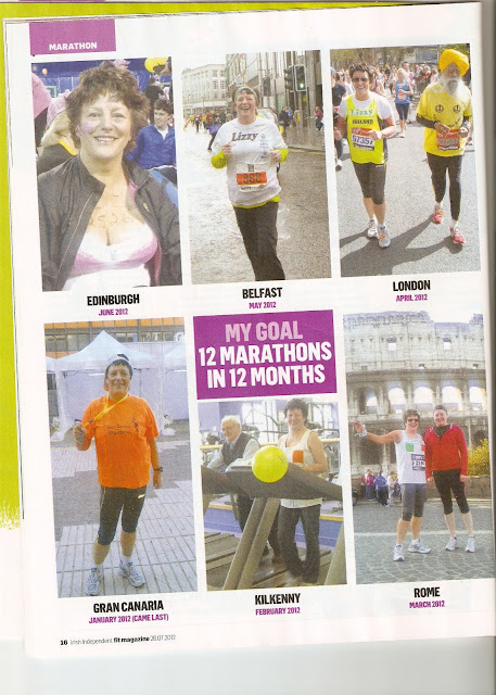 Marathon Liz Kavanagh Kilkenny Rome Belfast running