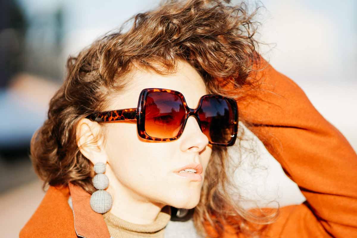 как носить очки осенью