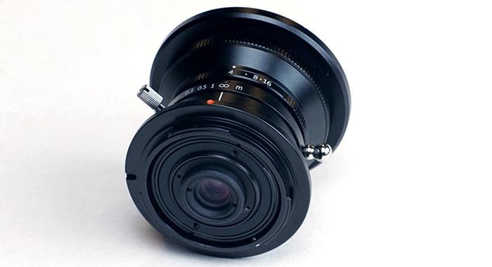 SLR Magic 8mm f/4, вид сзади